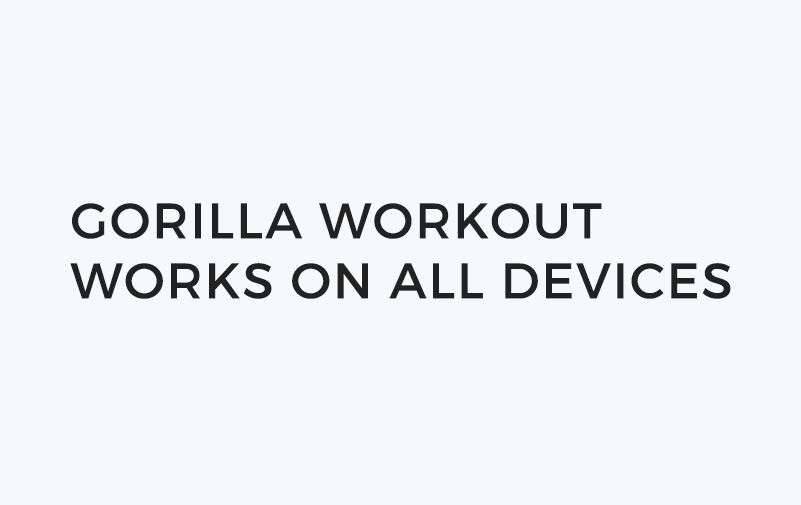 Home - Gorilla Fitness Website